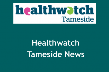 Healthwatch Tameside newsletter image