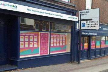 Photo of Healthwatch Tameside office front