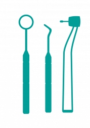 Image of tools used by dentist